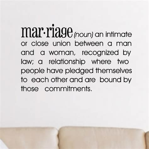 Fytd definition of marriage