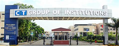 Mba Colleges In Punjab Jalandhar by Ct Institute Of Engineering Management Technology
