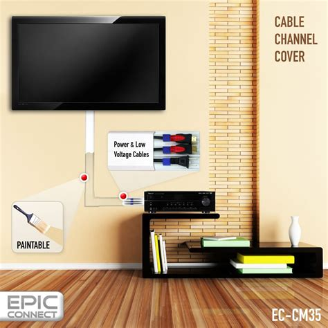 tv wall cable management paintable cord covers for wall 1000 images about hiding