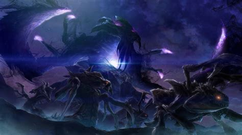 starcraft 2 concept art blizzcon 2014 starcraft ii legacy of the void new