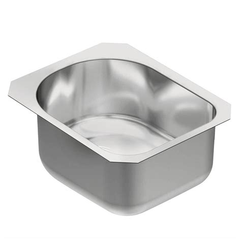 Moen Sink by Moen 1800 Series Undermount Stainless Steel 15 In Single