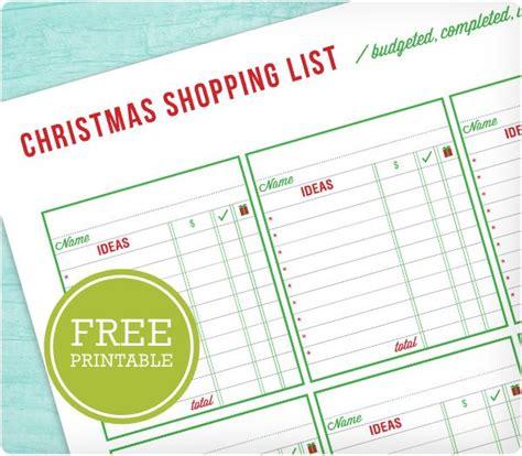 printable christmas shopping list pin by angela simmons king on christmas pinterest