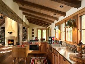murphycodesign country kitchen sxgnd hgtvcom hgtv rustic with wood planked walls and hutch
