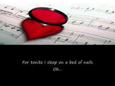 bed of roses lyrics bed of roses lyrics youtube