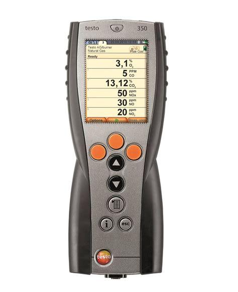 testo in testo 350 portable emission analyzer emission