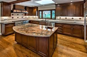 cute style kitchen: cute kitchen design cherry cabinets and fantastic design with cute