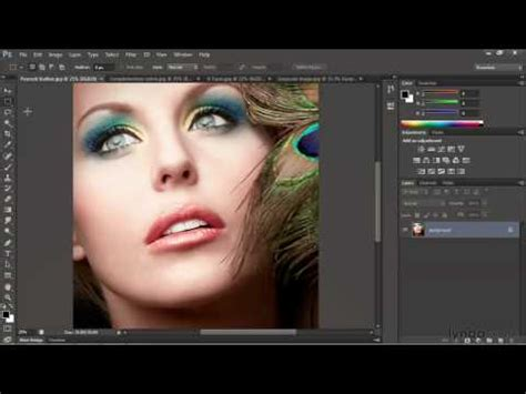 tutorial of adobe photoshop cs6 photoshop cs6 10 video tutorials