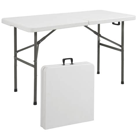 borough adjustable height dining table tables commercial 4ft portable folding table white best choice products