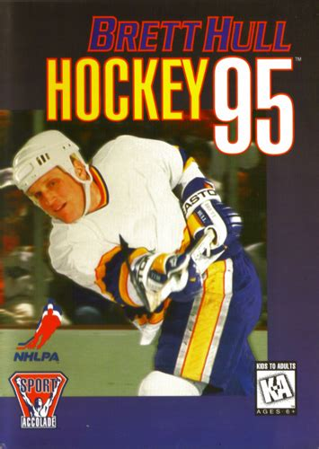 sega genesis hockey play brett hull hockey 95 sega genesis play