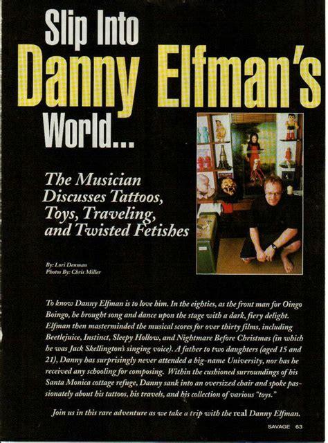danny elfman tattoos 96 best oingo boingo images on pinterest danny elfman