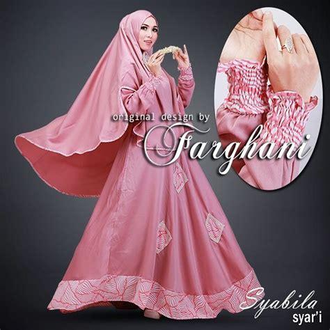 Jual Gamis Modern jual baju gamis modern terbaru syabila syari by farghani