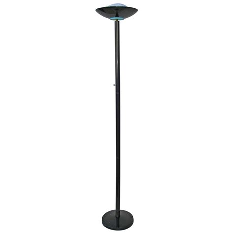 Floor Light With Dimmer by Black Finish Metal Halogen Floor L With Dimmer