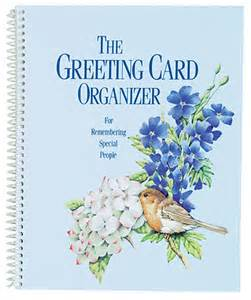 greeting card organizer book images frompo