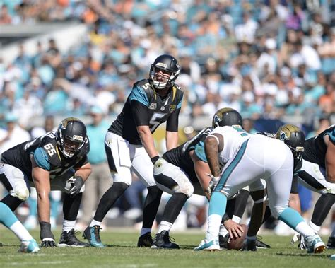 Usa Jaguar Football Schedule Jacksonville Jaguars C Roster Predictions