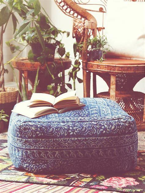 modelli creations indigo pouf   people clothing boutique boho gypsy hippie decor