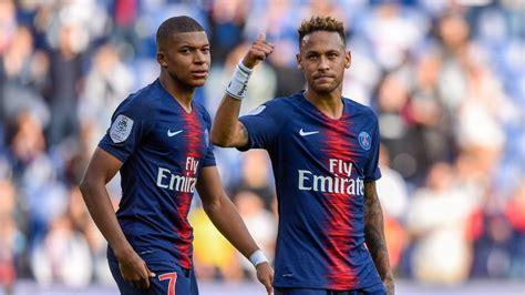 ligue des champions le psg de neymar  mbappe dans le