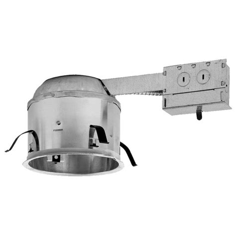 low profile can light housing halo 6 in aluminum recessed lighting remodel shallow ic