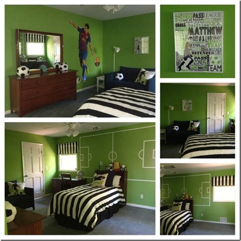 theme deco chambre decoration chambre theme football