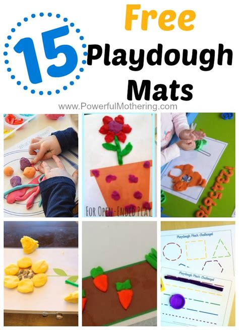 free printable spring playdough mats 15 gorgeous free playdough mats