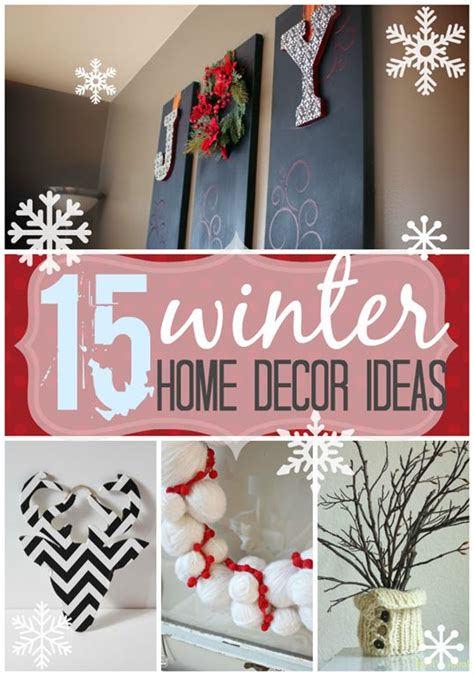 17 best ideas about winter home decor on white