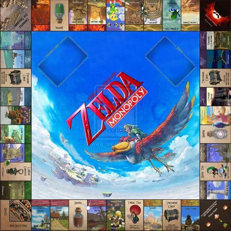 legend of zelda monopoly map legend of zelda monopoly 2014 bing images