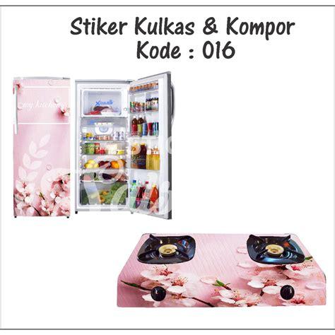 Stiker Kulkas Flowers stiker kulkas dan kompor 016 flower shopee indonesia