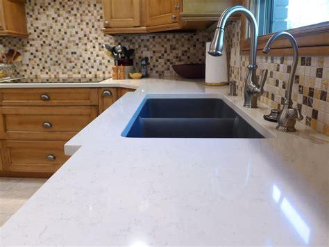 Granite Composite Countertop by Voritum Silestone Quartz Countertop With An Elkay Granite