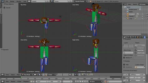 blender 3d robot tutorial blender character animation tutorial monkey robot part 3