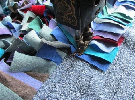 make a shag rag rug in a few hours homesteading and