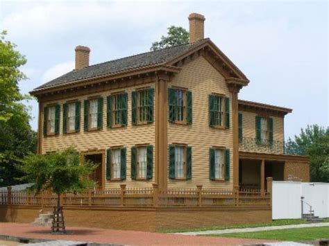 lincoln home national historic site travelthepast com tour the presidential homes of the national park service