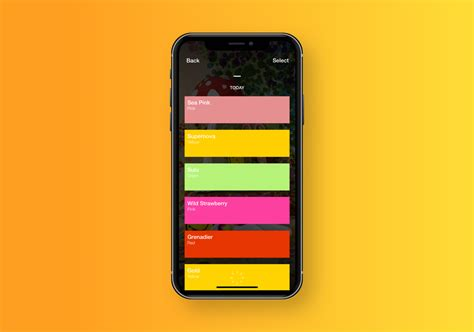 introducing swatches an app that makes collecting paint colors abduzeedo design