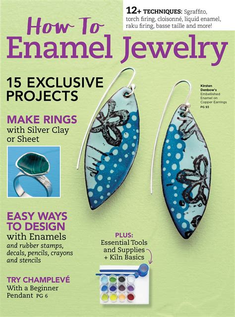 how to make enamel jewelry how to enamel jewelry digital edition