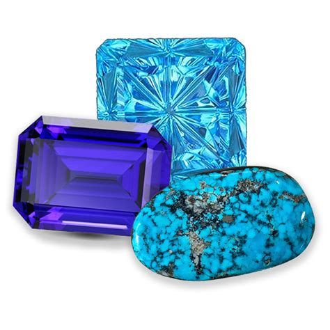 December Has 3 Beautiful Birthstones Topaz Tanzanite