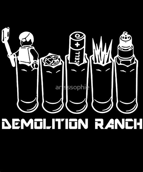Demolition Ranch Sticker