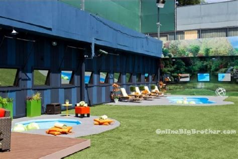 big brother backyard big brother us backyard pool 1 big brother 19 spoilers