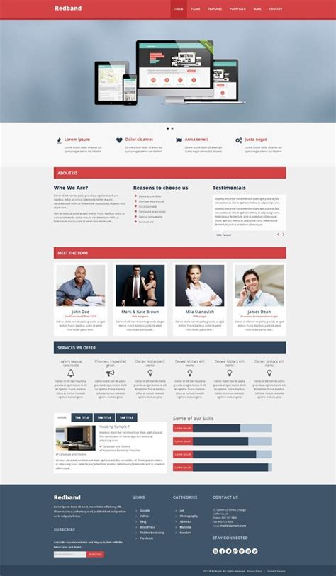 bootstrap templates for industrial 5 advanced html5 twitter bootstrap templates with a