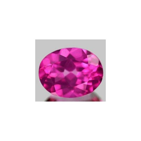 2 23 ct pink topaz gemstone oval cut for sale