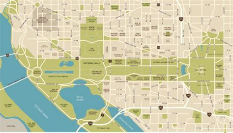 National Mall Washington Dc Map by National Mall Maps Directions Parking And More
