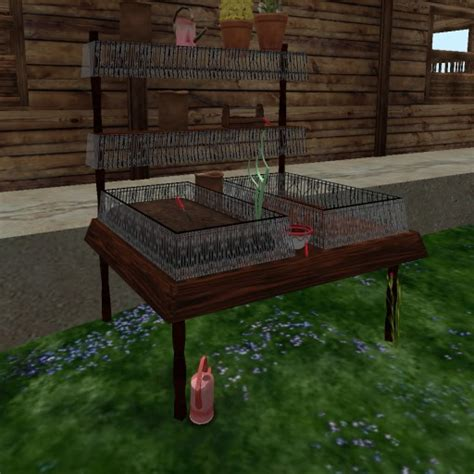 worm beds second life marketplace double bed worm farm rack shelf