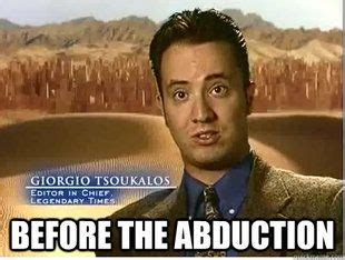 Ancient Aliens Giorgio Meme - evolution of giorgio a tsoukalos funny