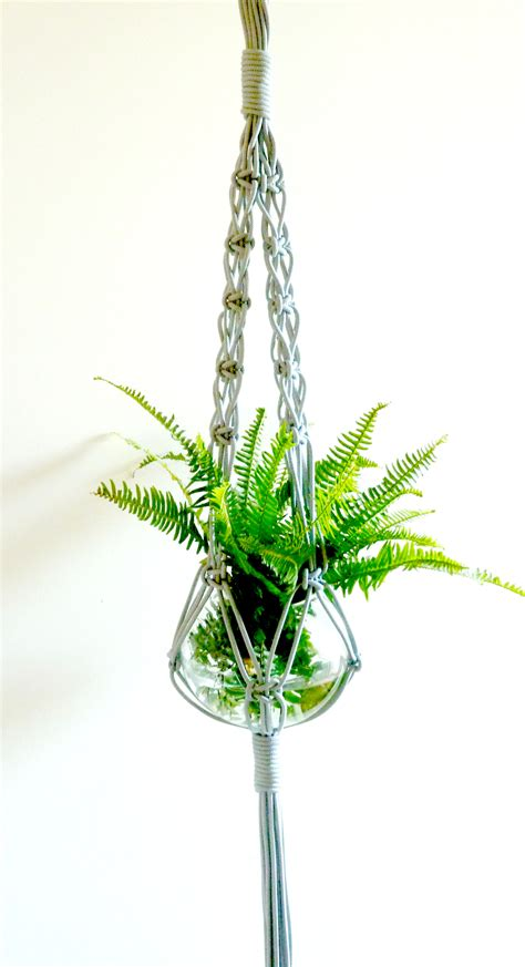 Hangers For Plants - crisscross macrame plant hanger the knot studio