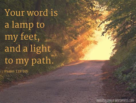 thy word is a l unto my feet his plans are so good and so big he has to get everyone