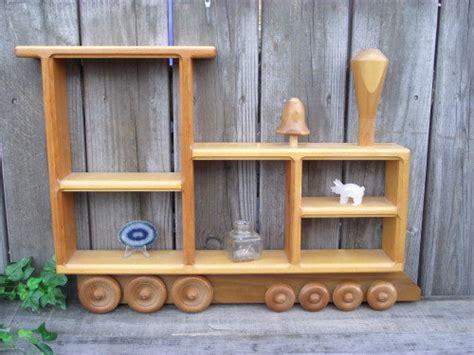 Engine Shelf by Wood Shelf The Tank Engine Shadow Box