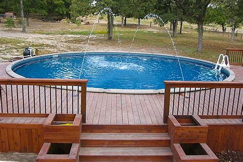 Decks Around Above Ground Pools Pictures by Above Ground Pools With Decks Pictures Above Ground