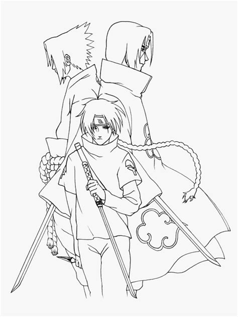 coloring pages naruto characters all akatsuki members coloring page coloring home