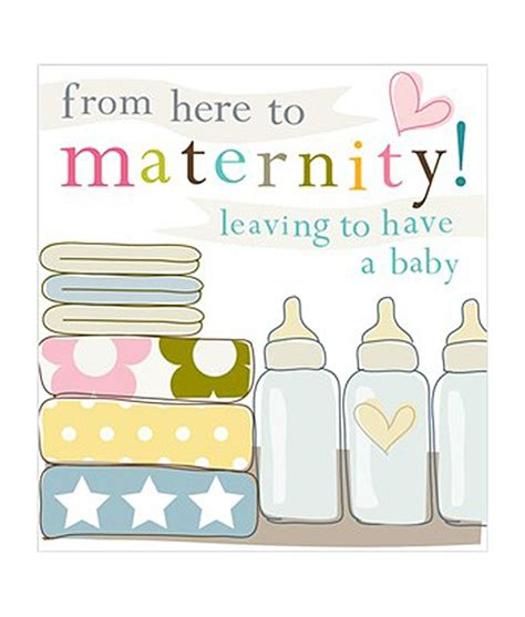 Maternity Gift Cards - image gallery maternity leave card