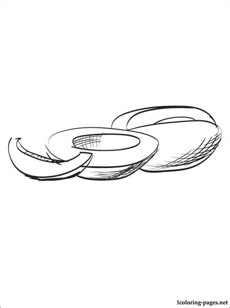 winter melon coloring page melon coloring page coloring pages