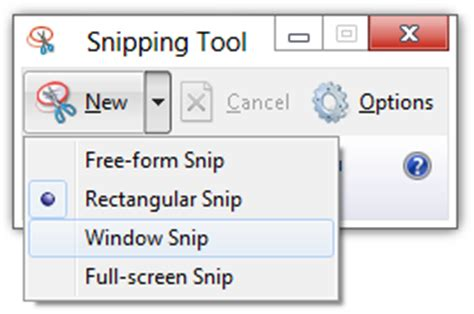 snipping tool for windows 10/8/7: tips & tricks