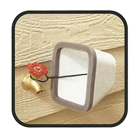 Outdoor Faucet Insulation by Insulating Outdoor Faucet Cover For Freeze Protection 2