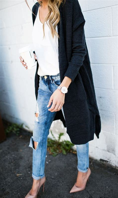 comfy fall brunch outfits  ladies styleoholic
